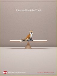 Balance. Stability. Trust. - RR DONNELLEY FINANCIAL