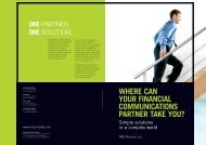 where can your financial communications partner ... - RR Donnelley