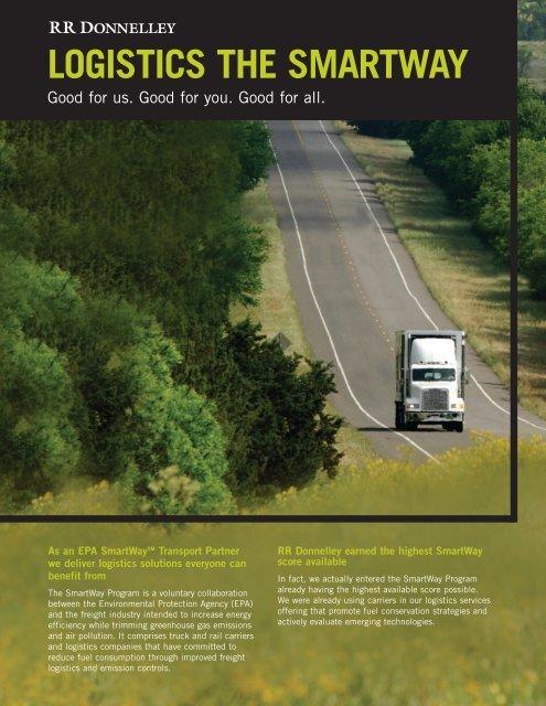 logistics the smartway - RR Donnelley