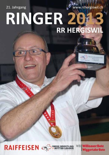 Ringer-Heft 2013 - RR Hergiswil