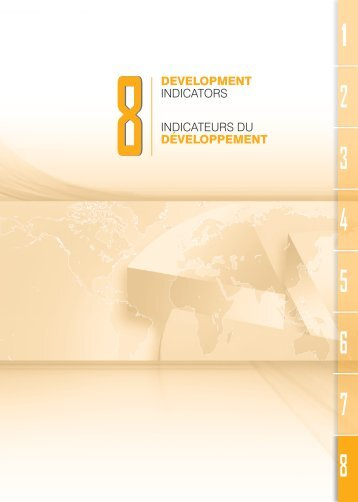 indicateurs du développement development indicators