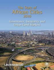 State of African Cities 2010 Report - Cities Alliance