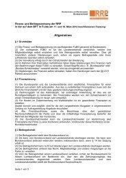 Finanz - Rentnerinnen- und Rentner Partei (RRP)