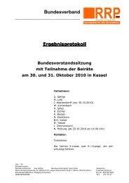 Bundesverband - Rentnerinnen- und Rentner Partei (RRP)