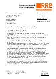 Landesverband - Rentnerinnen- und Rentner Partei (RRP)