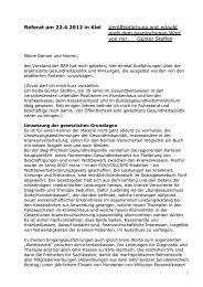 Referat am 22 - Rentnerinnen- und Rentner Partei (RRP)