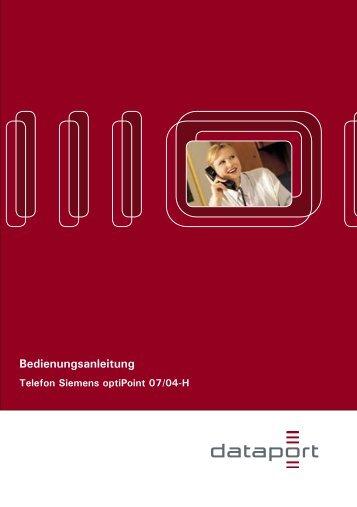Siemens optiPoint - RRZ Universität Hamburg