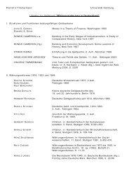 Literaturliste zur Vorlesung - RRZ Universität Hamburg