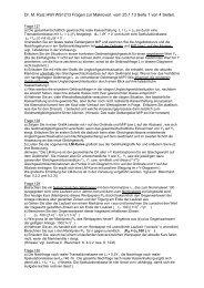 Dr. M. Ruiz HWI WS1213 Fragen zur Makrovorl. vom 25.1.13 Seite 1 ...