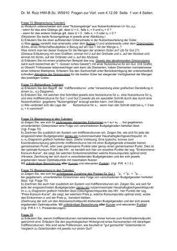(P/R = Lehrbuch Pindyck/Rubinfeld) - RRZ Universität Hamburg