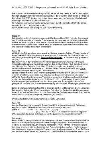 Dr. M. Ruiz HWI WS1213 Fragen zur Makrovorl. vom 9.11.12 Seite 1 ...