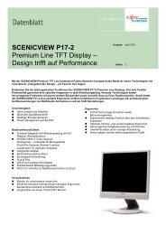 SCENICVIEW P17-2 Premium Line TFT Display – Design trifft auf ...