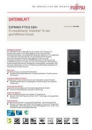 FTS ESPRIMO P7935 E80+, iQ45
