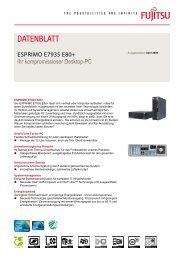 FTS ESPRIMO E7935 E80+, iQ45