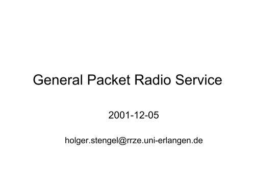 General Paket Radio Service