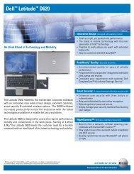 Dell™ Latitude™ D620