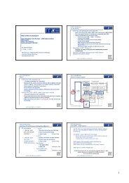 Dr. Gerhard Wellein G. Hager, T. Zeiser HPC Services - RRZE ...