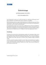 Programm - RRZN - Leibniz Universität Hannover