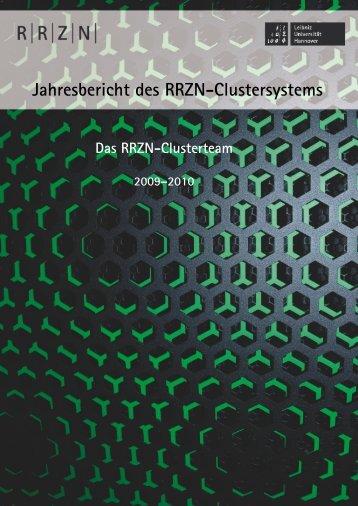 2009 und 2010 - RRZN - Leibniz Universität Hannover