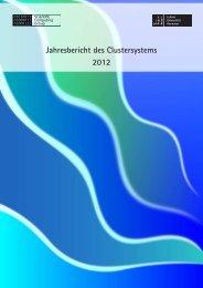 Clusterjahresbericht 2012 - RRZN - Leibniz Universität Hannover