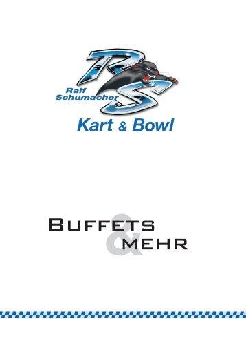 Buffets - Ralf Schumacher Kartcenter