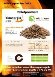 Online bestellen - Bioenergie Shop
