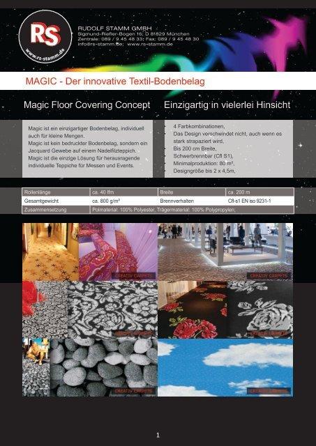 MAGIC - Rudolf Stamm GmbH