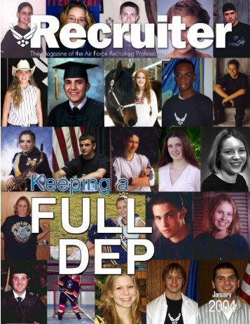 Jan 04 Recruiter - Air Force Recruiting Service