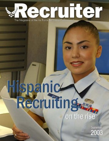 January 03 Recruiter - Air Force Recruiting Service