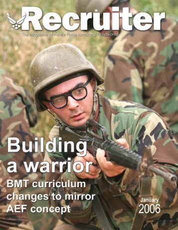 Jan 2006 Magazine - Air Force Recruiting Service