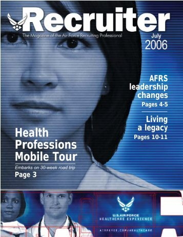 July 2006 Magazine - Air Force Recruiting Service
