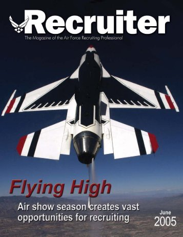 June 05 Recruiter.pmd - Air Force Recruiting Service