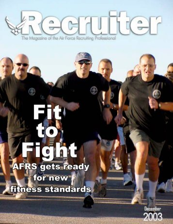 Nov 03 Recruiter - Air Force Recruiting Service