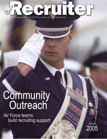 Jan 05 Recruiter - Air Force Recruiting Service