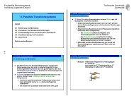 8. Parallele Transitionssysteme - Fachgebiet Rechnersysteme ...