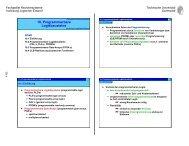 10. Programmierbare Logikbausteine - Fachgebiet Rechnersysteme ...