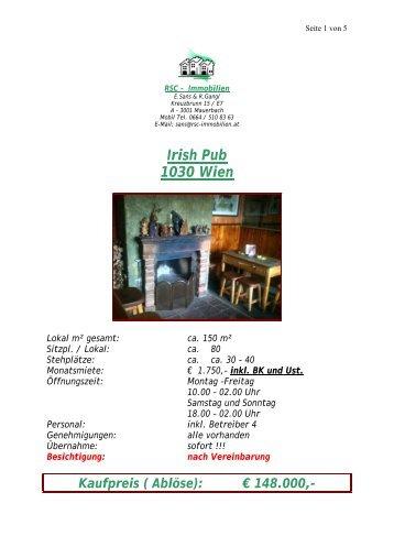 Irish Pub 1030 Wien