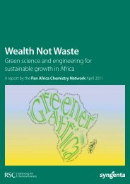 Wealth Not Waste - Royal Society of Chemistry