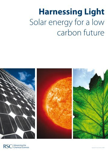 Harnessing Light Solar energy for a low carbon future