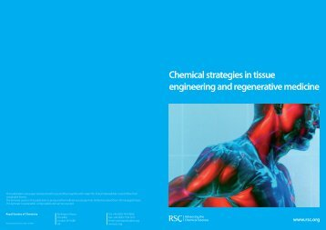Chemical Strategies in Tissue Engineering and Regenerative ...