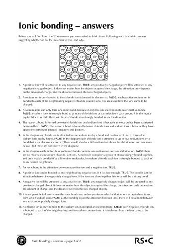 100 atomic structure and chemical bonds worksheet answers chem 11 chemical bonding. Black Bedroom Furniture Sets. Home Design Ideas