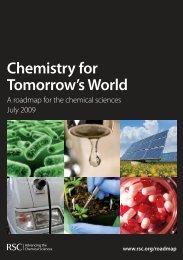 Chemistry for Tomorrow's World - Royal Society of Chemistry