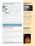Neuer Look für den Newsletter - Royal Society of Chemistry - Seite 2