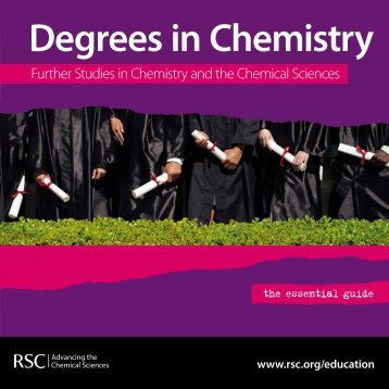 Degrees in Chemistry - Royal Society of Chemistry