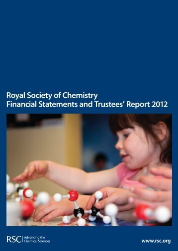 2012 Trustees' Report - Royal Society of Chemistry