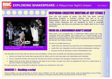 Creative writing key stage 2