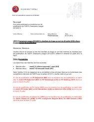 Par e-ma Aux clubs qualificat 2012/201 UEFA Ch ... - RSCA.be