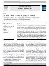 Use of oral ketamine in chronic pain management: A review