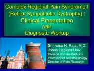 Complex Regional Pain Syndrome I: Clinical Presentation and ...