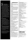 DOLBY CP45 KIN0PROZESSOR - Seite 2